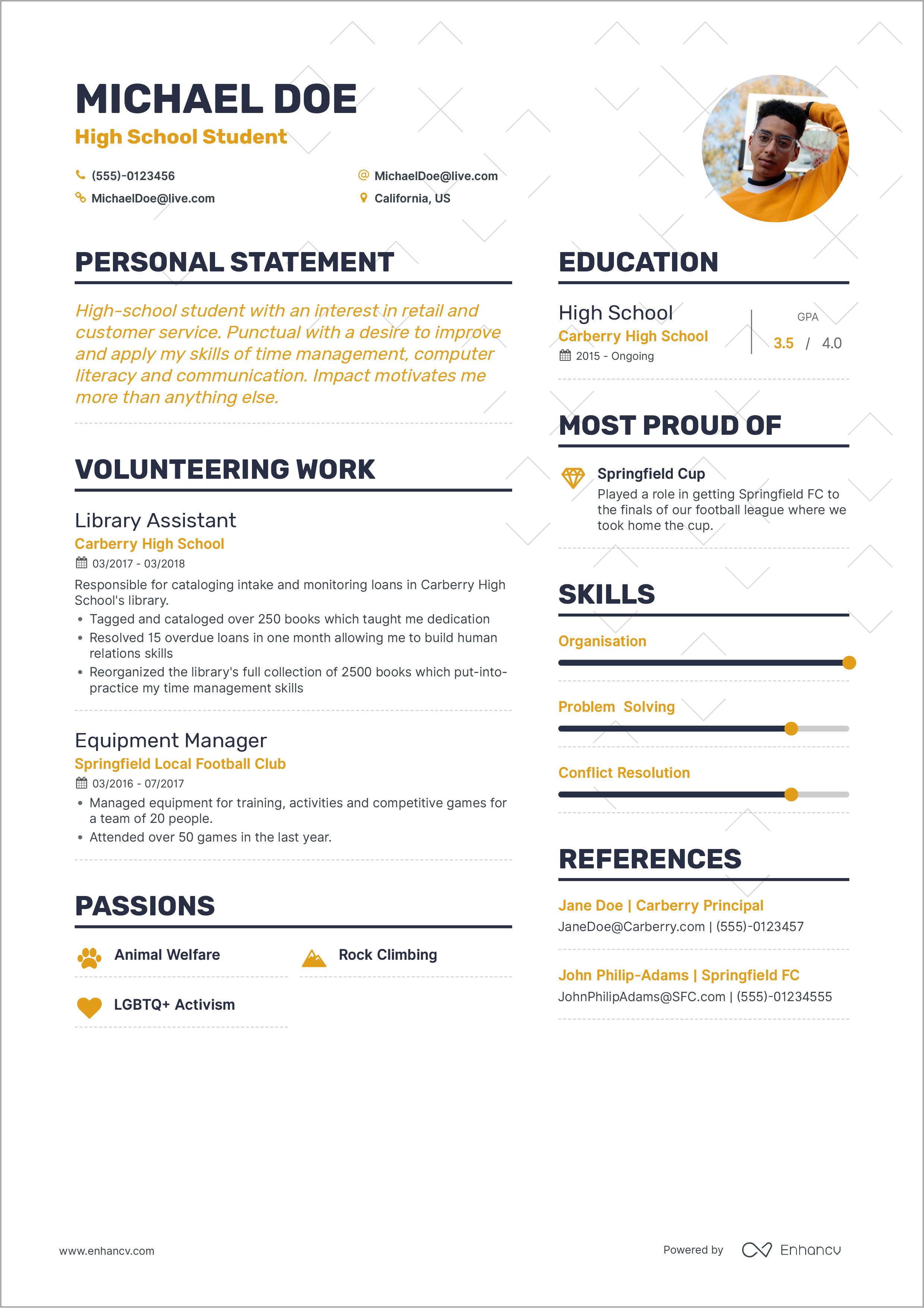 first job resume  louiesportsmouth