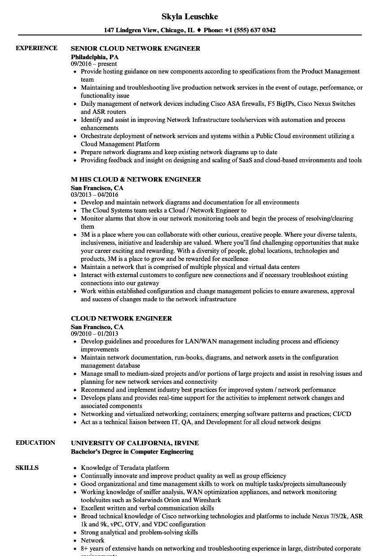 network engineer resume  louiesportsmouth