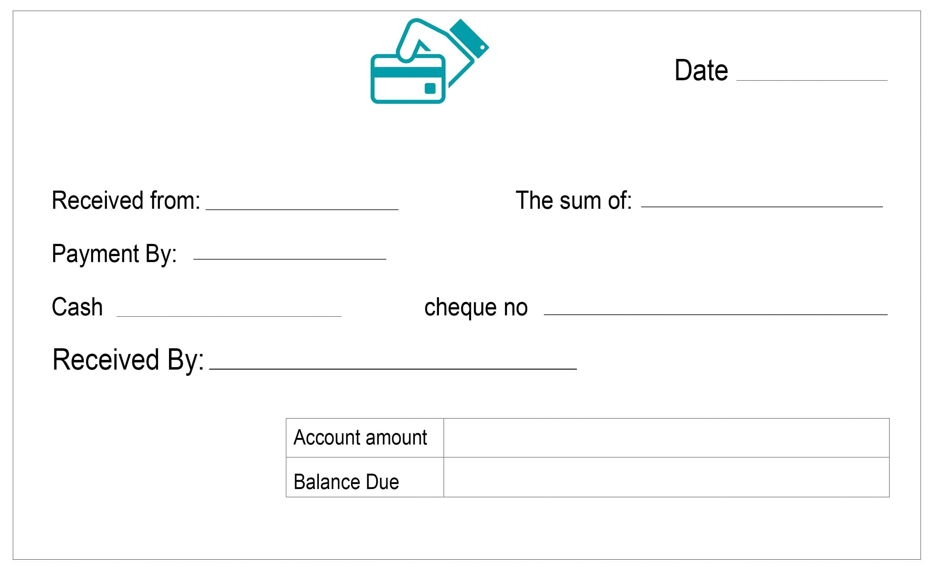 Cash Receipt Template | louiesportsmouth.com